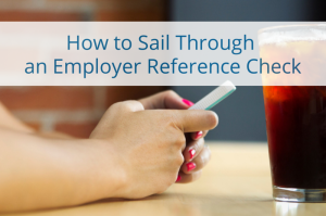 employer reference check