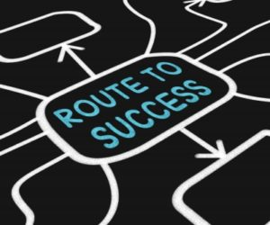 success from a job or running your own business