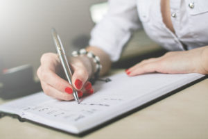 setting effective thank you notes